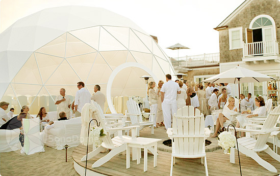 wedding event dome