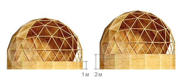 wood geodesic dome instructions