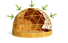energy-effective dome